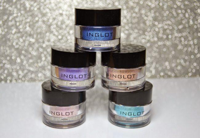 Jarné novinky: Pigmenty od Inglot