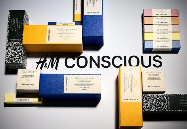 Vo februári sa v obchodoch ubytovala najnovšia organická kozmetická rada od HM – Conscious Beauty Collection